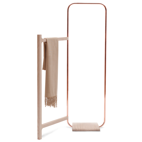 'Blanche' by Meike Langer. A beautifully restrained use of ash and copper.