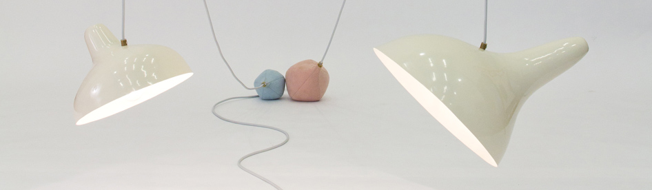The 'Teresa' lights seen at Ventura Lambrate in 2012.