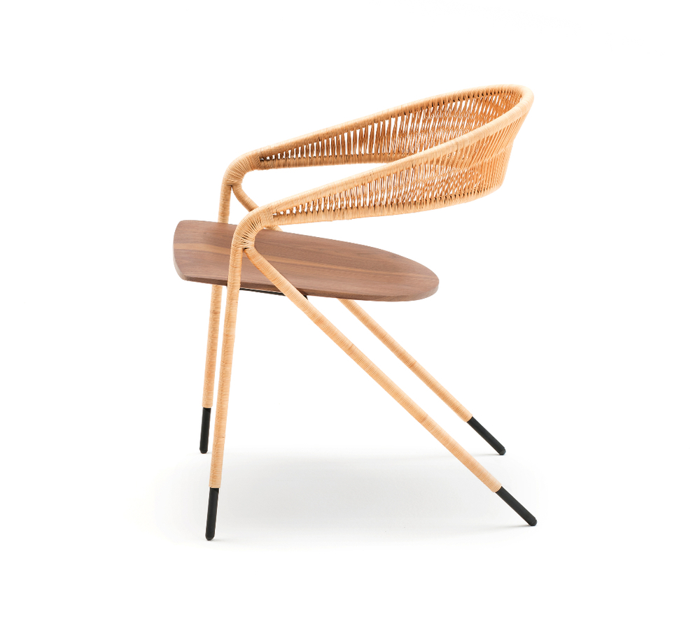 The 'Georges' chair by David Lopez Quincoces for Living Divani.