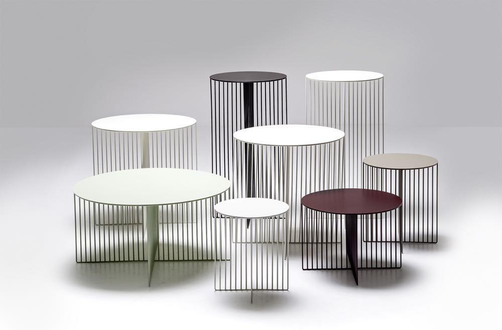 'Accursio' side and coffee tables by Antonio Sciortino for La Cividina.