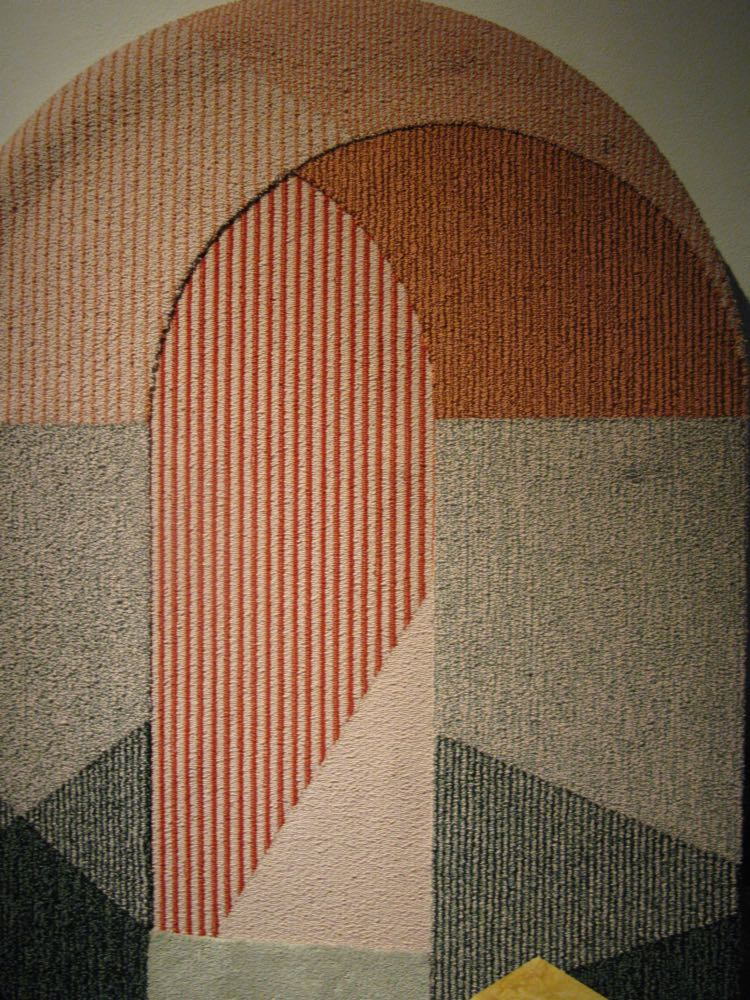 'Sottoportego' rug by Seraina Laredo for Portego. Made for Portego by a company in the Veneto area who normally makes wall to wall carpeting. www.portego.it