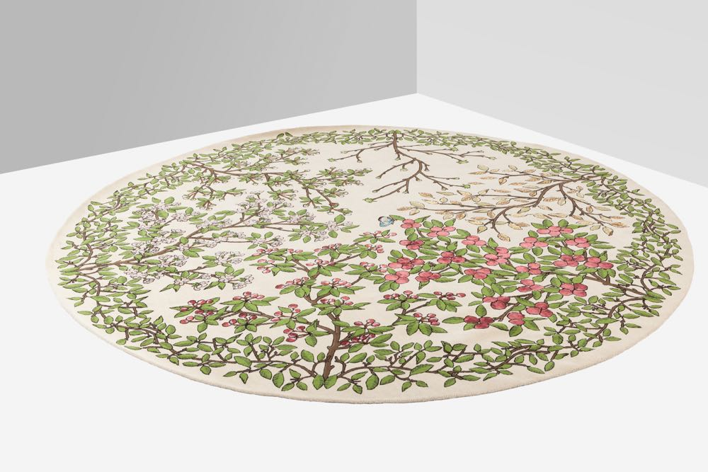 Minale-Maeda's 'Transcience' rug for  Nodus.