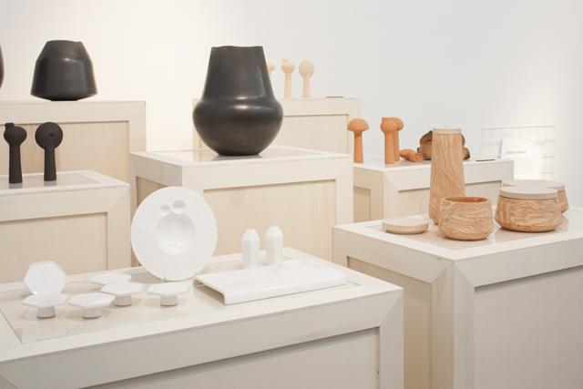 The ceramics of RobertoSironi. Photo Craig Wall.