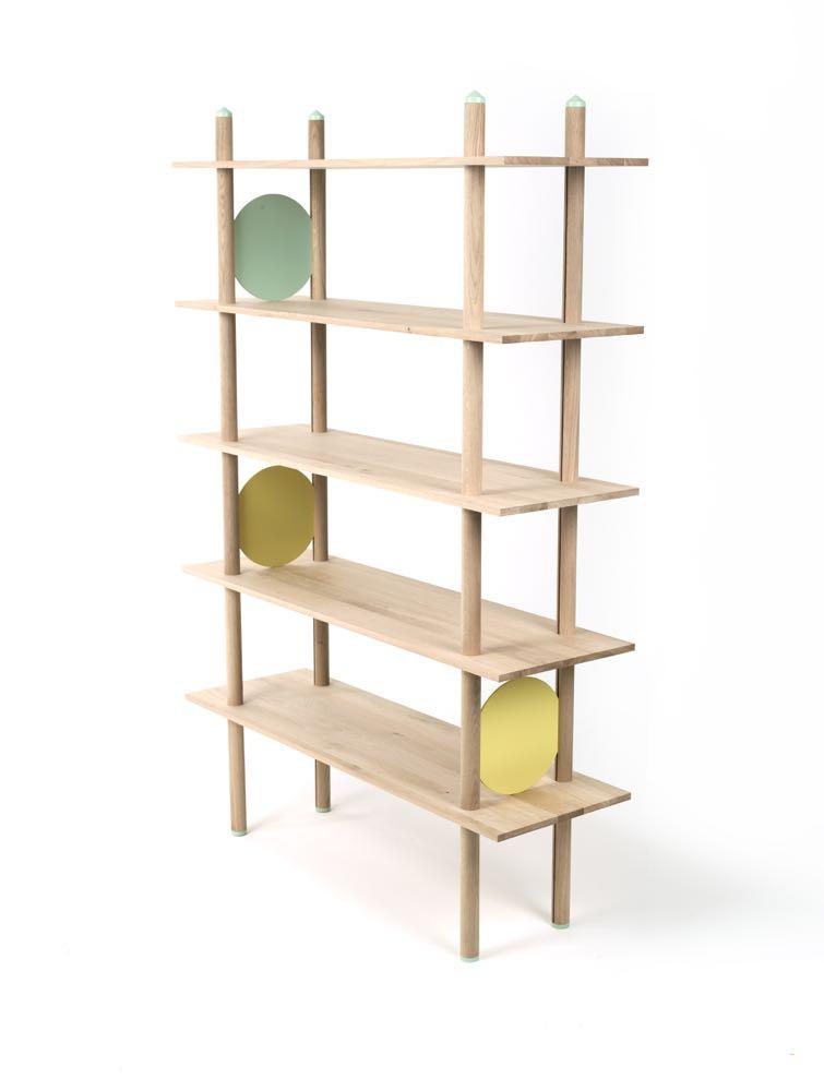 Kristian Knobloch's 'Babel' shelving (render).