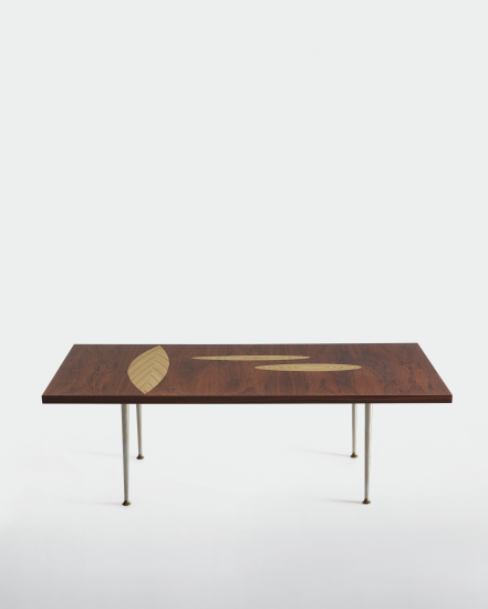 Wirkkala's 'Rhythmic Plywood' coffee table, Asko 1958.