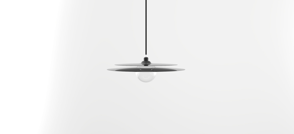 The 'Cymbal' pendant light- the first product to come from La Chance's in house design team.