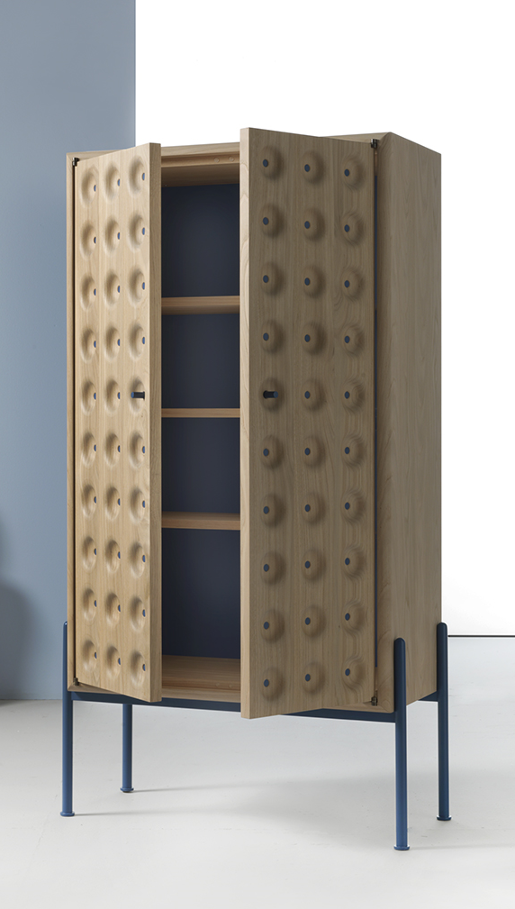 The 'Breathe' cabinet by Studio BAAG for Durame 2015.