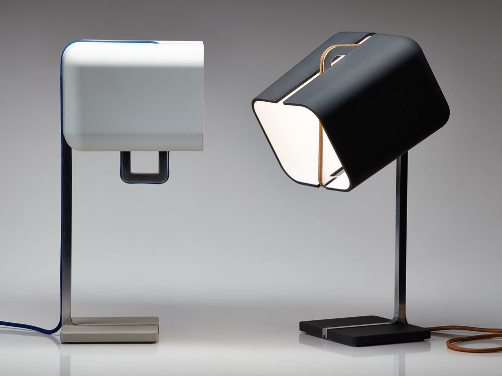 The winner of the Workshopped People's Choice Award in 2013, the 'Aligned' lamp by daast