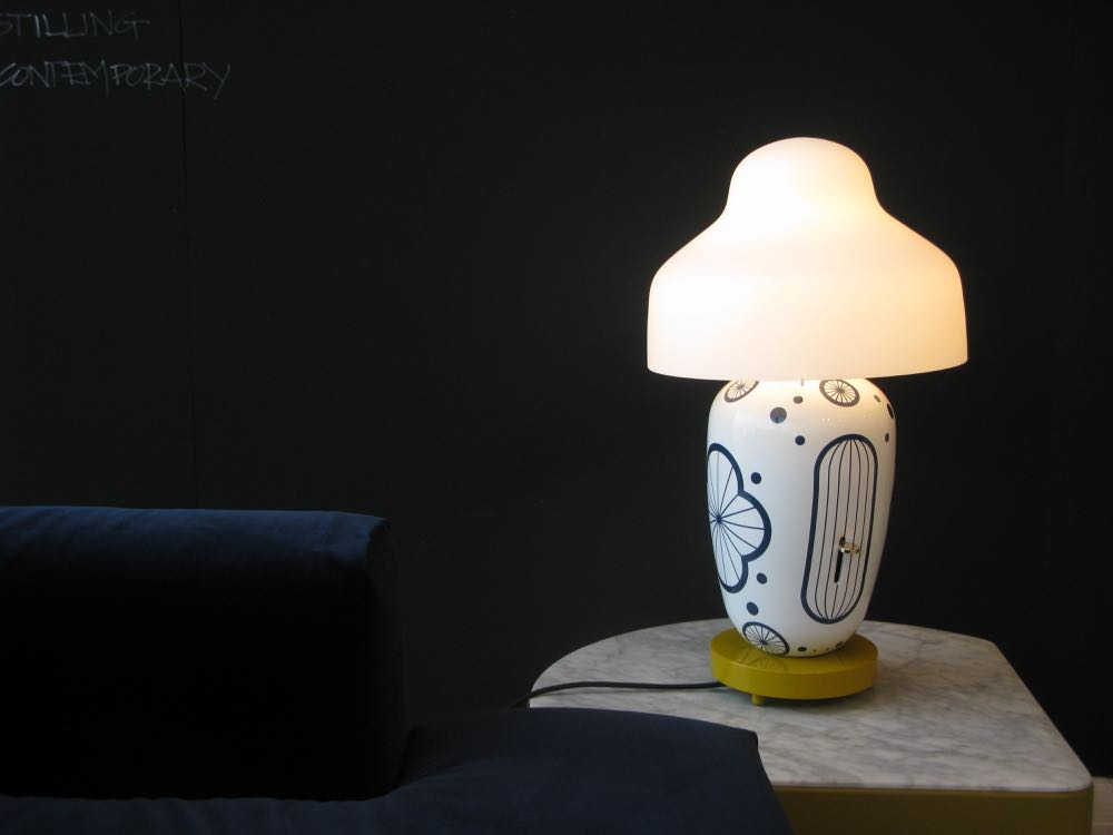 Jaime Hayon's 'Chinoz' table lamp for Parachilna.