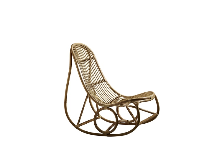 Nanna Ditzel's ND15 or 'Nanny' rocking chair from 1961. Available through Sika Design.