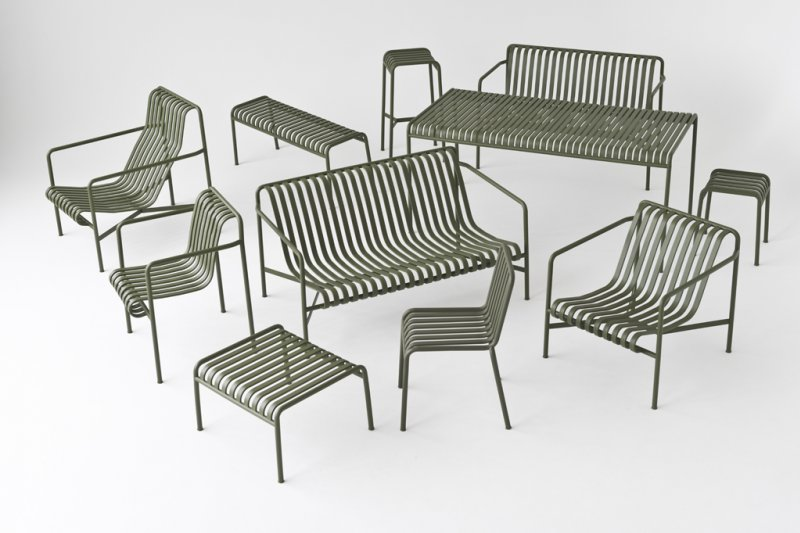The new 'Palisade' Outdoor Collection but Ronan and Erwan Bouroullec for Hay.