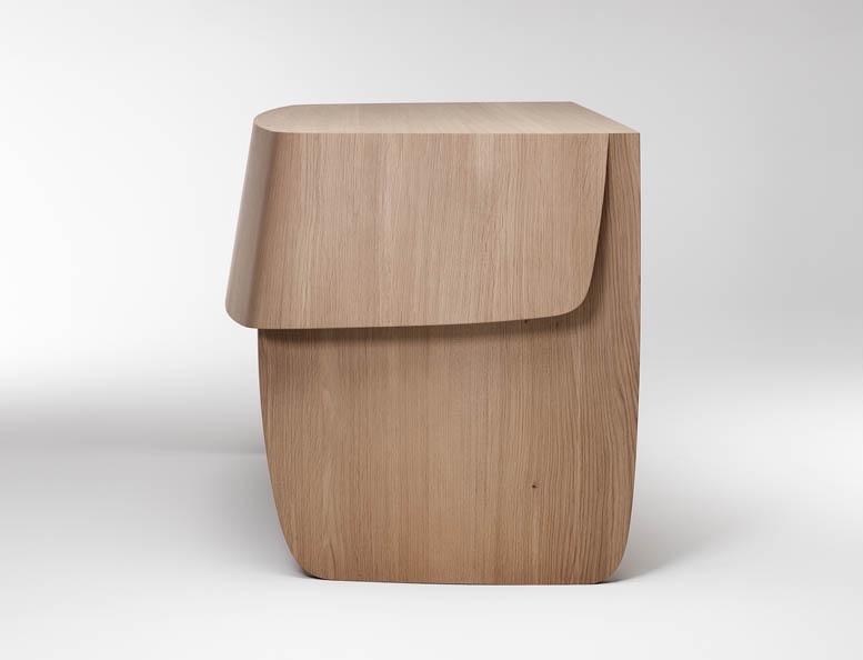 'Desk' (2014) in European oak by Khai Liew.