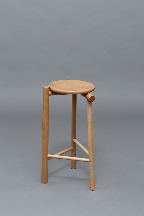 James Shaw's 'In the round' stool.