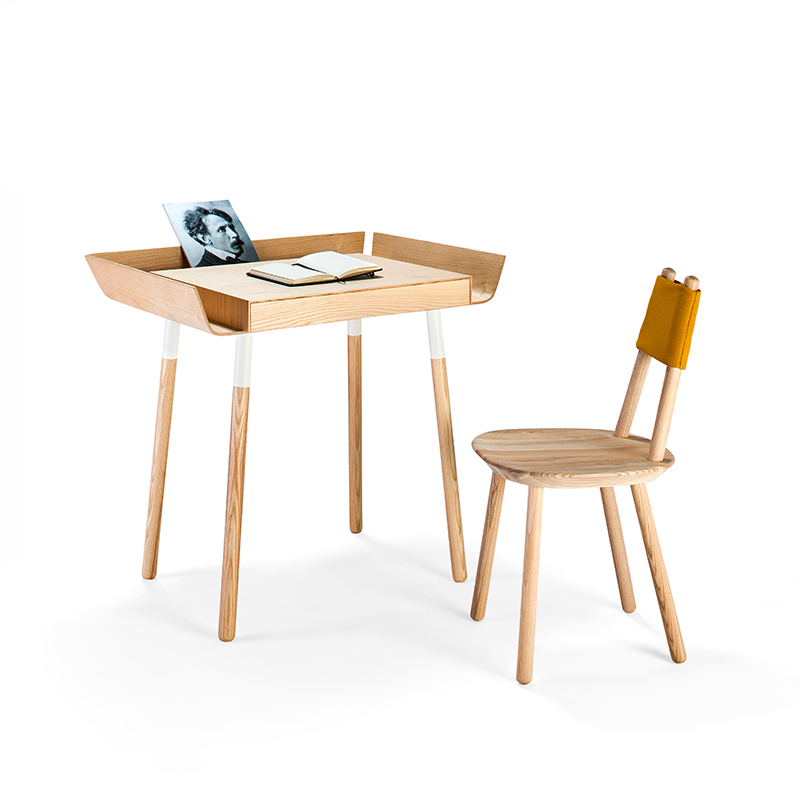 Emko's 'My Writing Desk' and new 'Naive' chair.