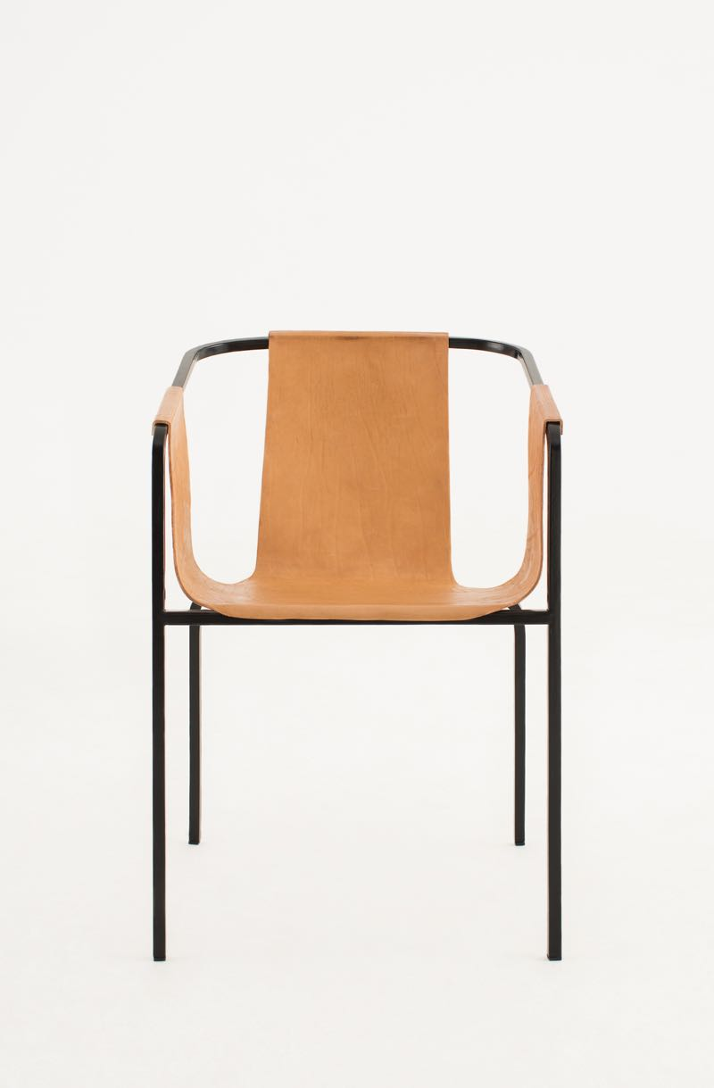 Front view of the 'Duo' chair by Kätlin Eskla. Photo by Juri Seredenko.