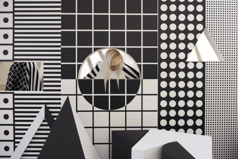Patternity collaborated with  Paperless Post  to present a marvellously graphic installation based around 10 new greeting cards designed by Patternity.