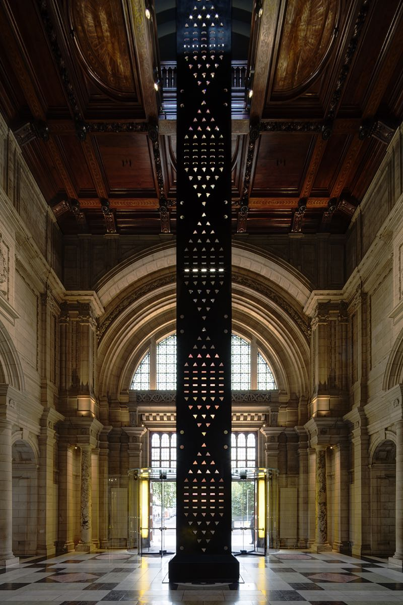 Like a stylish rocket ready for lift off - Kim Thomé's 'Zotem' at the V&A. Photo Mark Cocksedge.