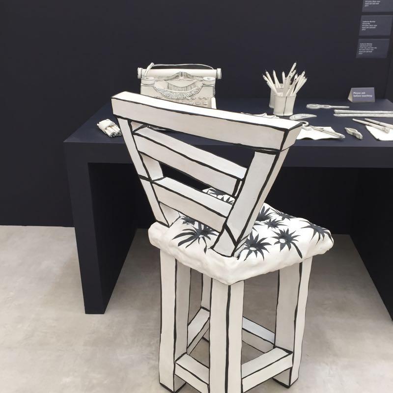 Katharine Morling installation at Future Heritage at Decorex. Photo Karen McCartney