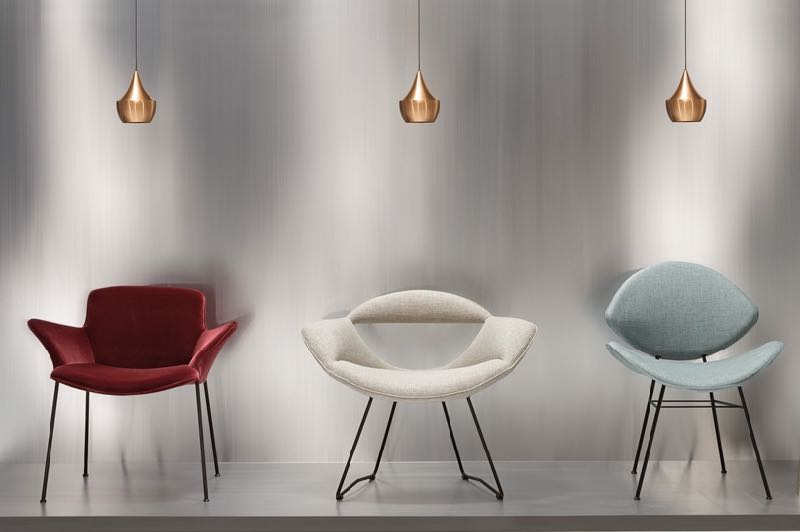 The Burgaz Neptun Collection. L to R: 'Burgaz', 'Rumi' and 'Fishnet' by Sadi Ozis reissued by Walter Knoll.
