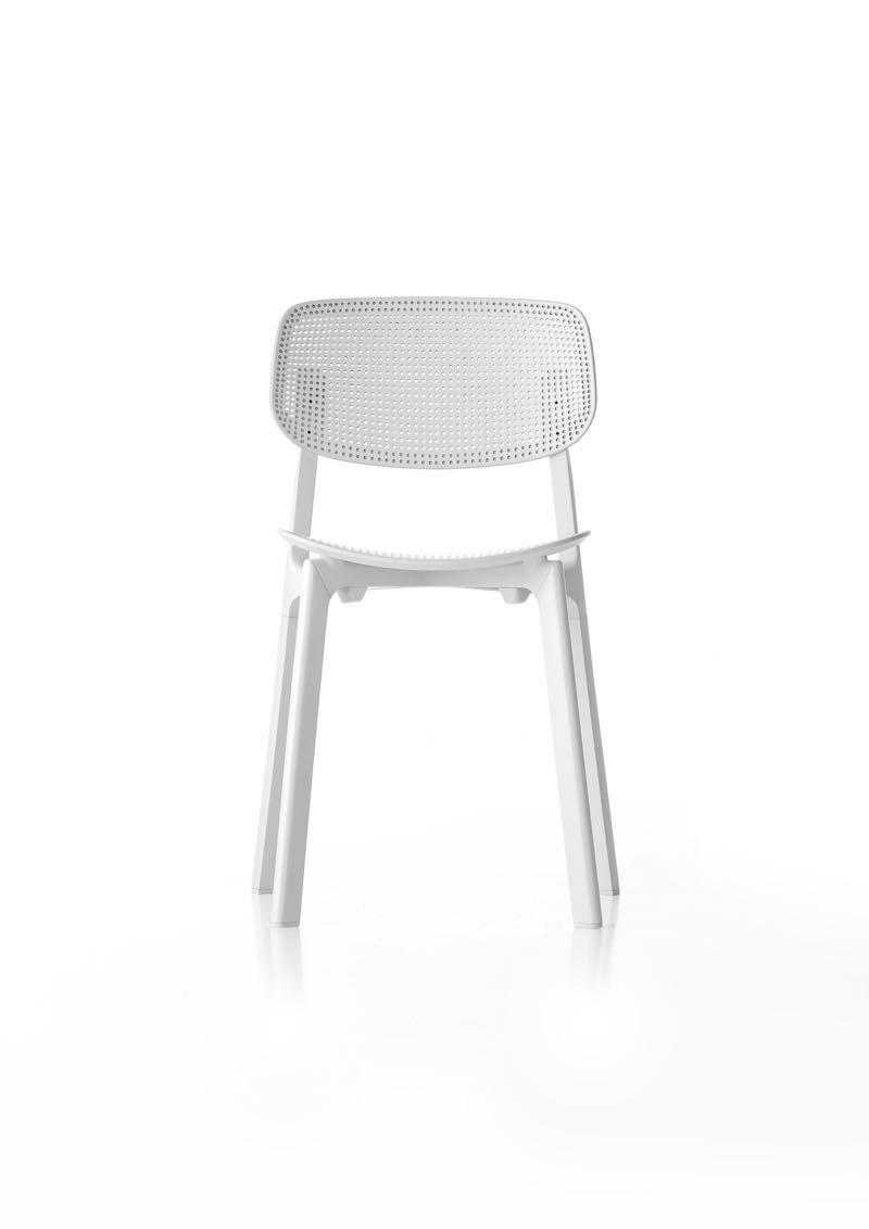 Patrick Norguet's 'Colander' chair for Kristalia.