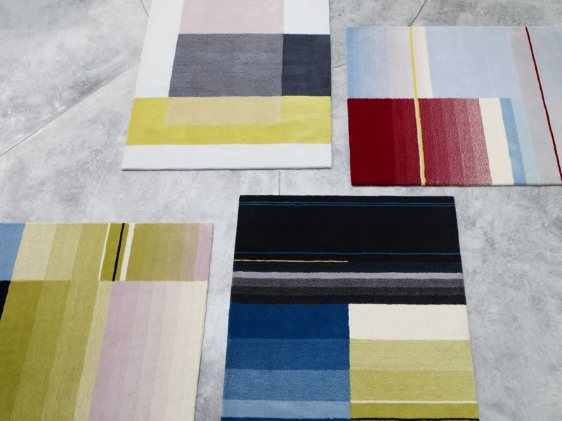 Scholten & Baijings' 'Colour Carpets' for HAY.