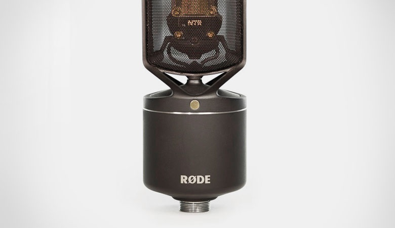 The NTR ribbon microphone for Røde. The skeletal castings and visible workings are really quite beautiful.