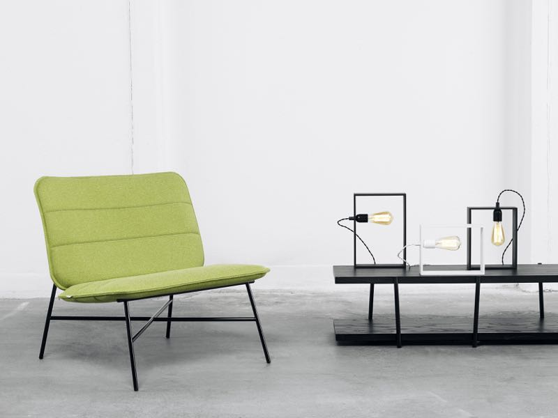 Just a few of David design's new products - the 'Papyro' lounge chair by Cate & Nelson, 'Marfa Mezzanine' table by CKR and 'Hill' light by Lars Hofsjö.