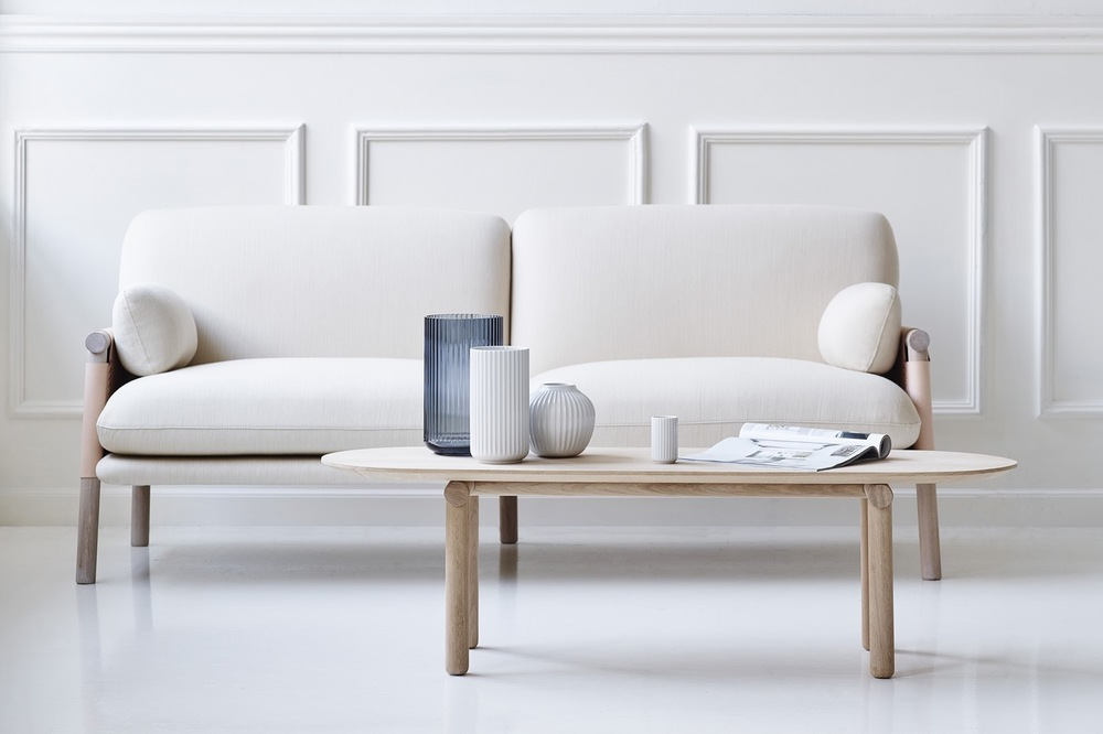 Monica Förster's 'Savannah' sofa has been joined by a new family member - the 'Savannah' coffee table. Made from solid oak it has the collection's emphasis on visible construction details.