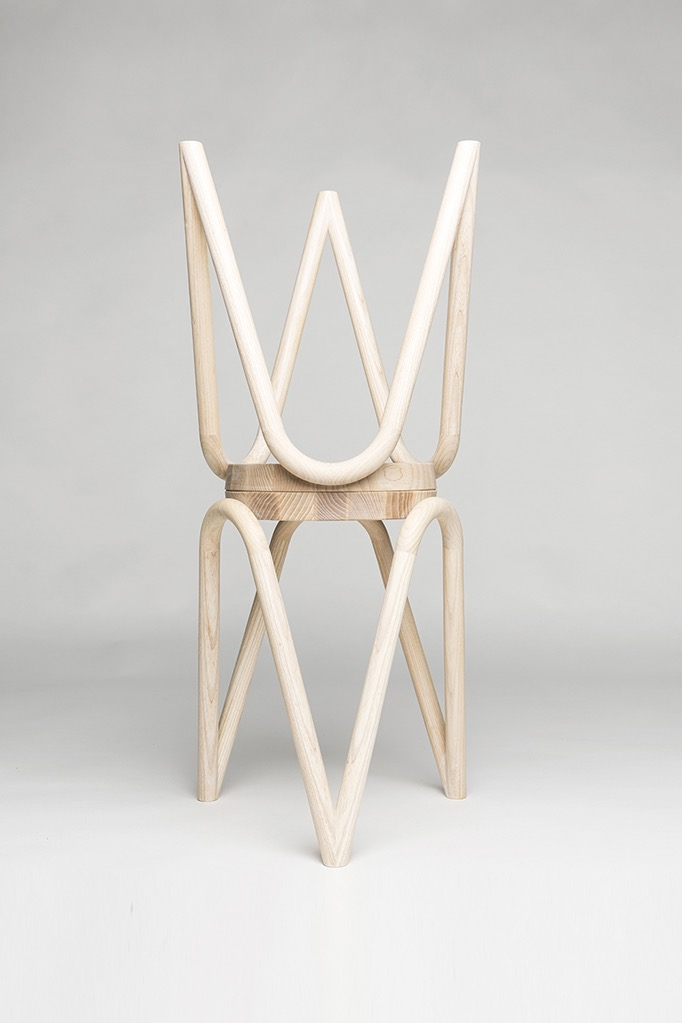 The 'Vava' stool by Kristine Five Melvaer. Photo by Erik Five Gunnerud.