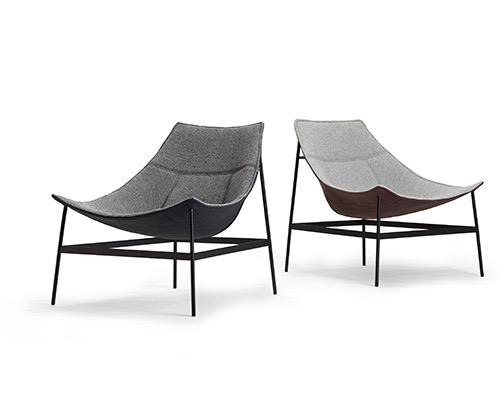 The 'Montparnasse' lounge chair by Christophe Pillet for Offecct.