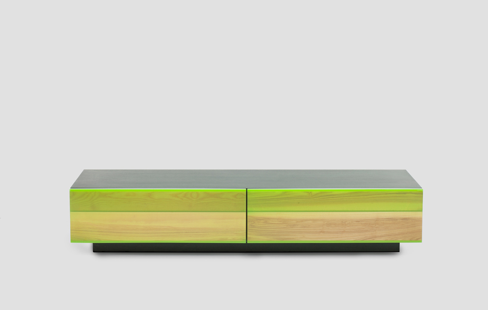 The 'Uru' low sideboard by Jo Nagasaka for Established & Sons.