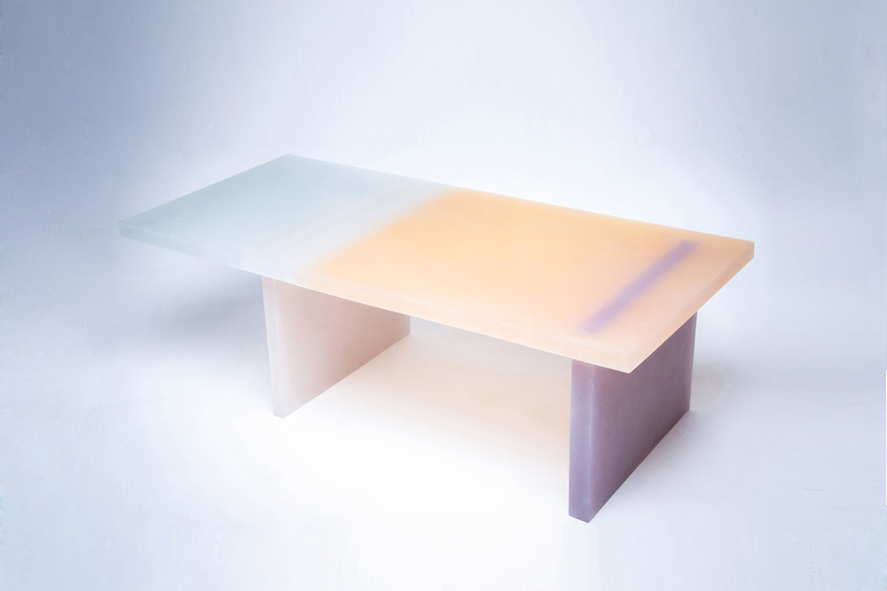 A low table from the Haze series by Wonmin Park, 2013. © Wonmin Park