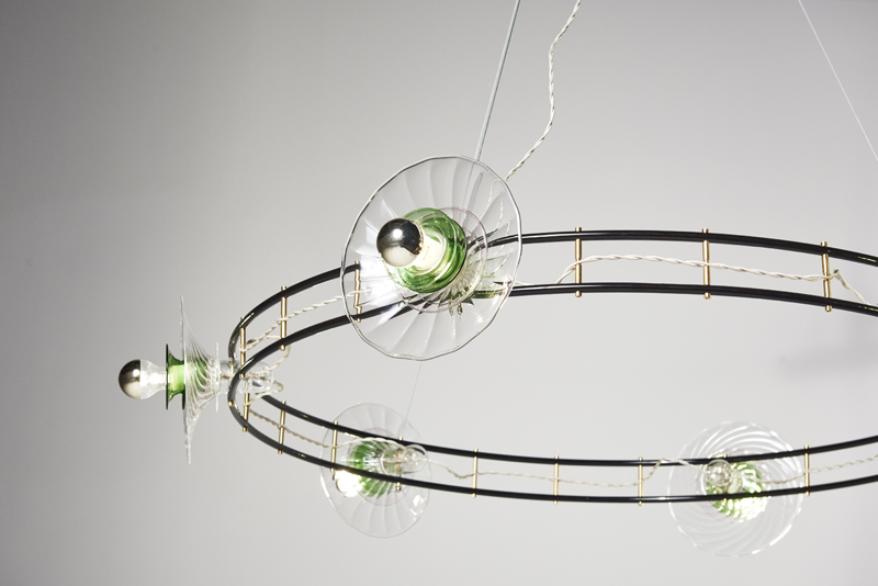 Bethan Laura Wood's 'CrissCross Hula' light.