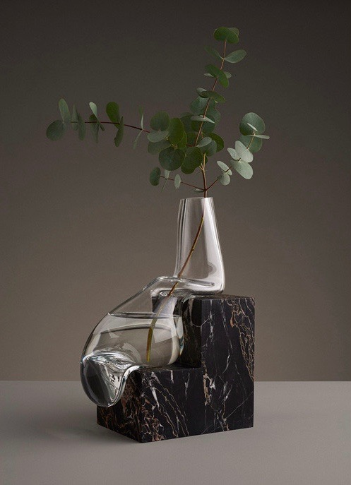 'Indefinite' vase by Erik Olovsson of Studio E.O.