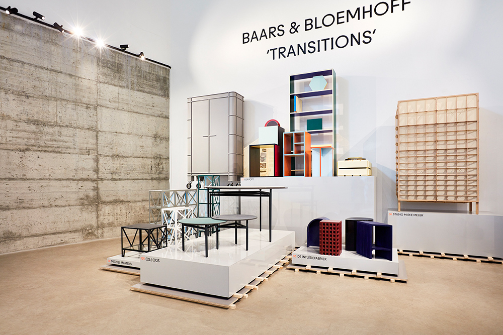 The Baars & Bloemhoff 'Transitions' exhibition had you thinking about what was possible with well known materials like MDF.