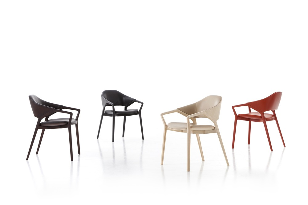 The 'Ico' chair by Ora Ito for Cassina. An interesting, comfortable and highly versatile chair.