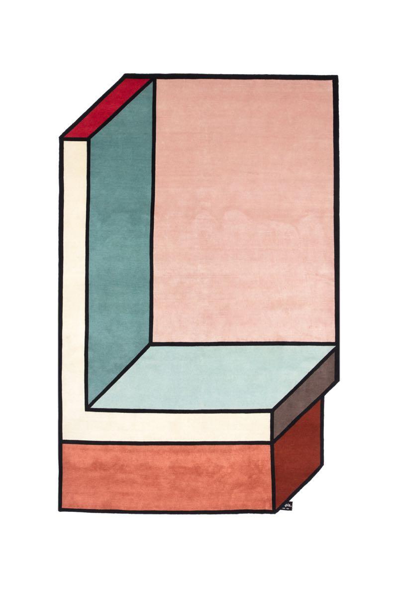 Patricia Urquiola's 'Visioni' rug for cc-tapis.
