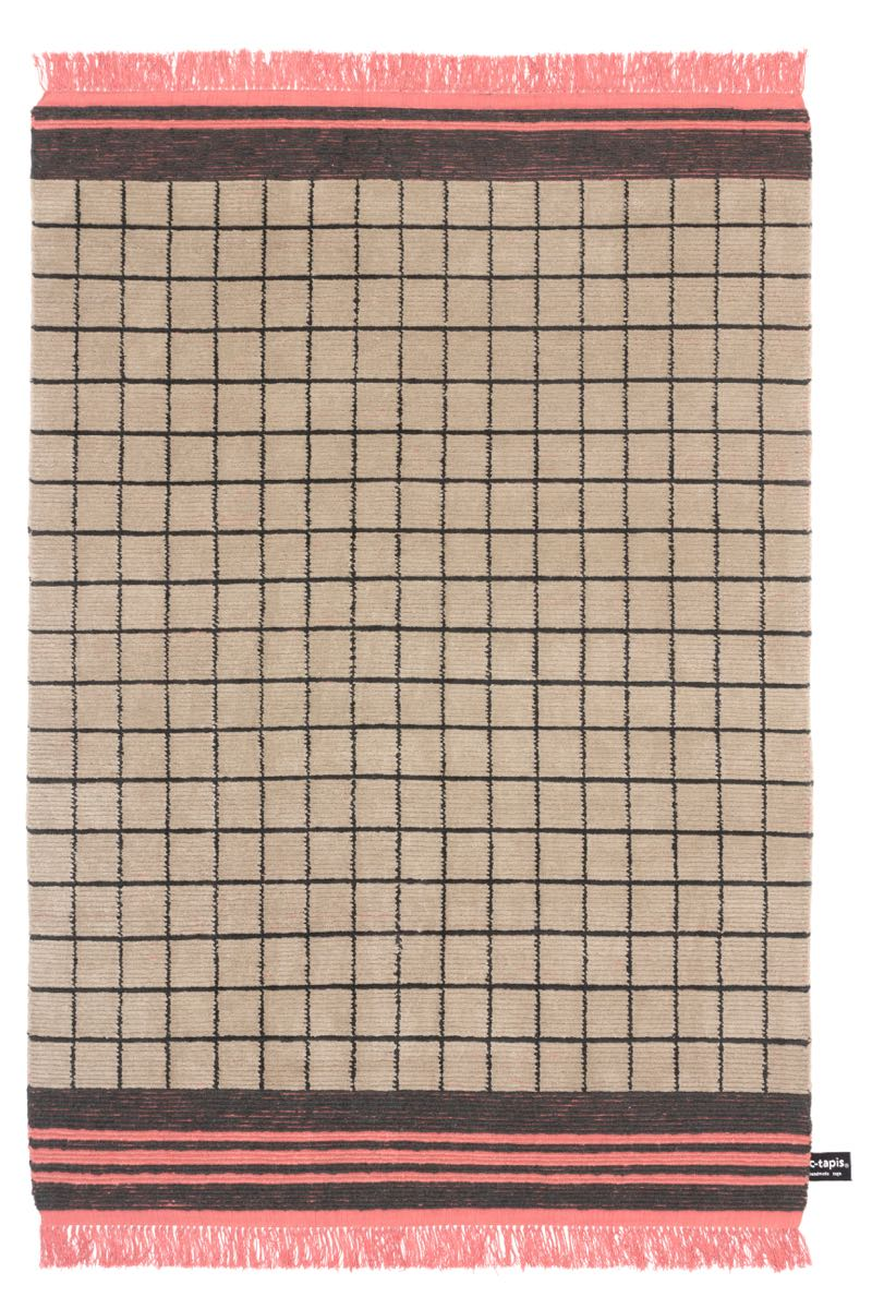 Studiopepe's  Quadro Celeste  #15 in beige and coral for cc-tapis.