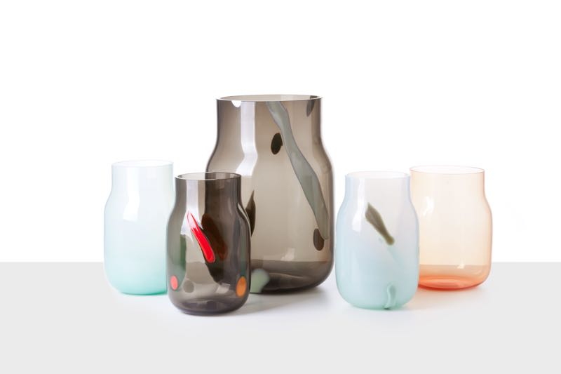 Czech glass specialists Dechem launched their 'Bandaska Vase Post Modern' collection at Palazzo Litta.