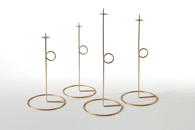 'Roman' candleholders by Rafaella Mangiarotti for Atipico.