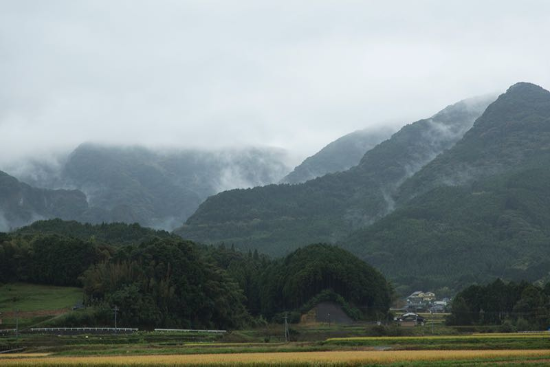Scenic beauty around Arita.