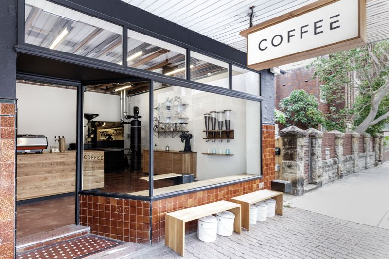 The exterior of Coffee Bondi Beach. Photograph by Barton Taylor.