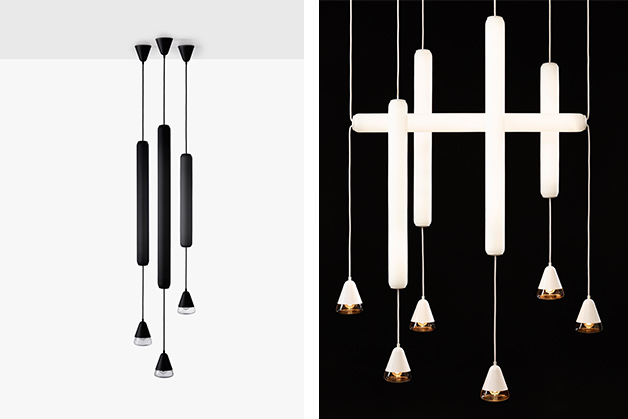 Lucie Koldova's 'Puro' lights for Czech lighting brand Brokis. Koldova is the brands creative director.