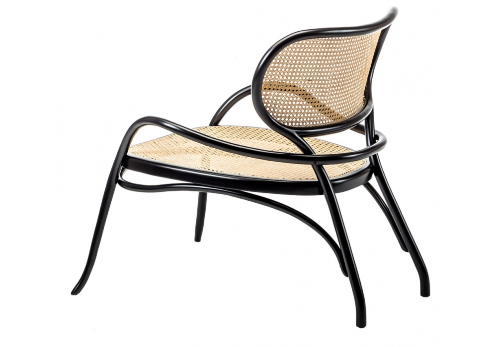 The 'Lehnstuhl' by Nigel Coates for Gebruder Thonet Vienna. The cane ensures it is light & lithe.