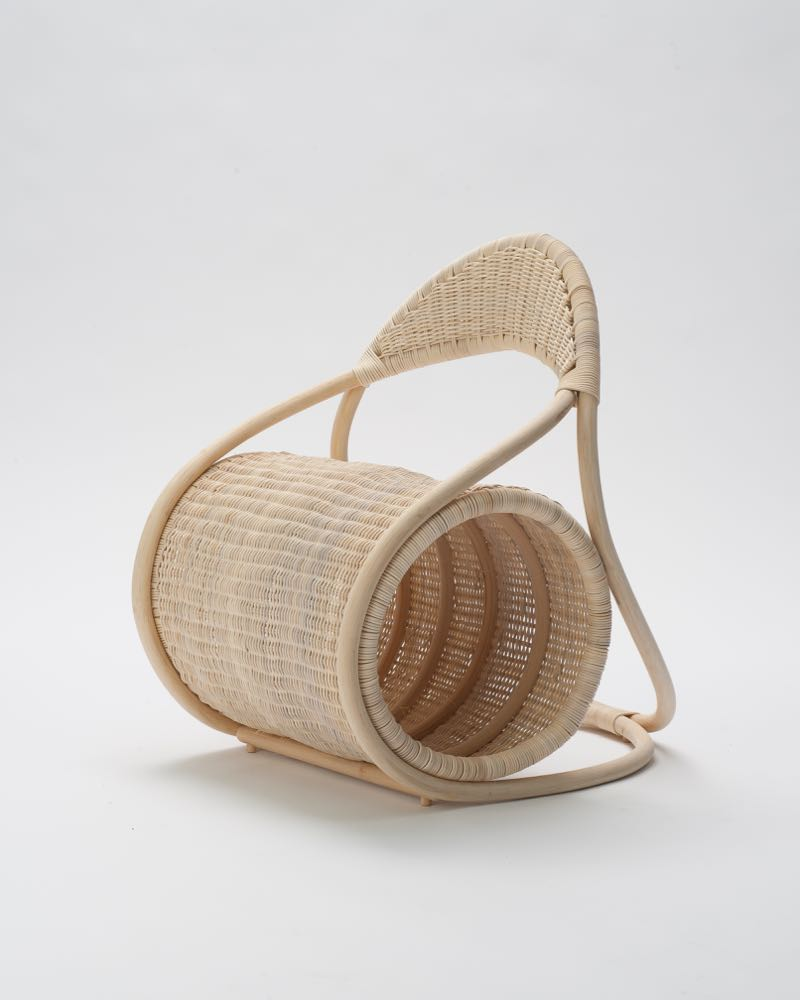 The Bobbin chair by Eva Fly.