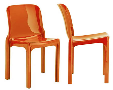 Magistretti's 'Selene' chair for Artemide from 1969.