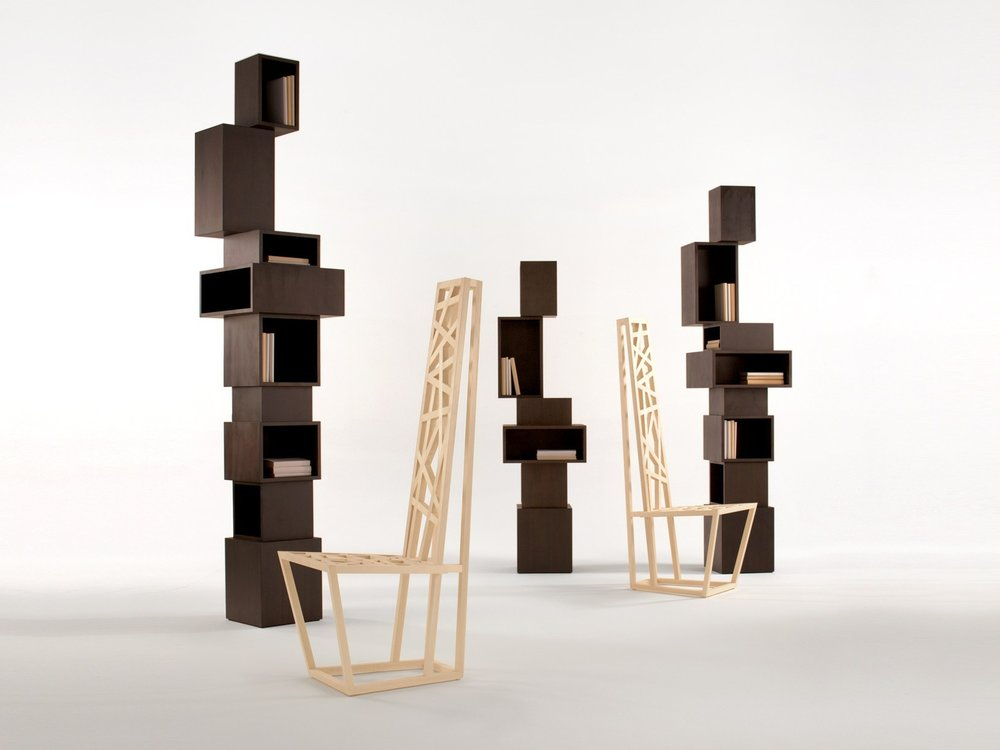 Samuel Chan the founder of Channels received two Design Guild Marks for 'Column' bookshelves (DGM147) and 'Magnus' chair (DGM148) as well as launching his monograph Samuel Chan, Design Purity and Craft Principles.
