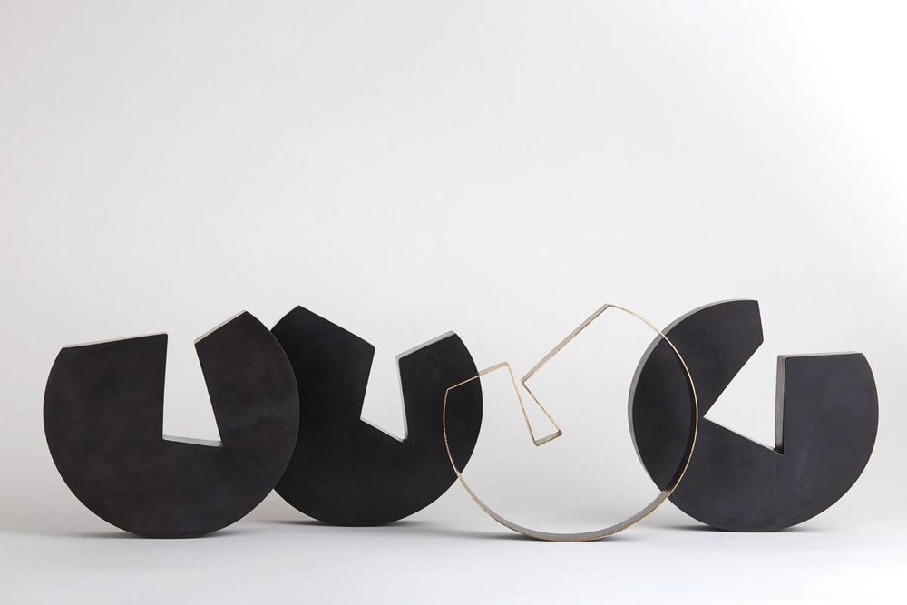 'Four bowls' by Juliette Bigley. Photograph by Odi Caspi.
