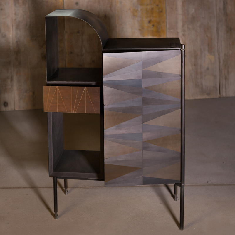 'Marque' cabinet by Alessandro Zambelli for London-based limited edition design gallery, Matter of Stuff.