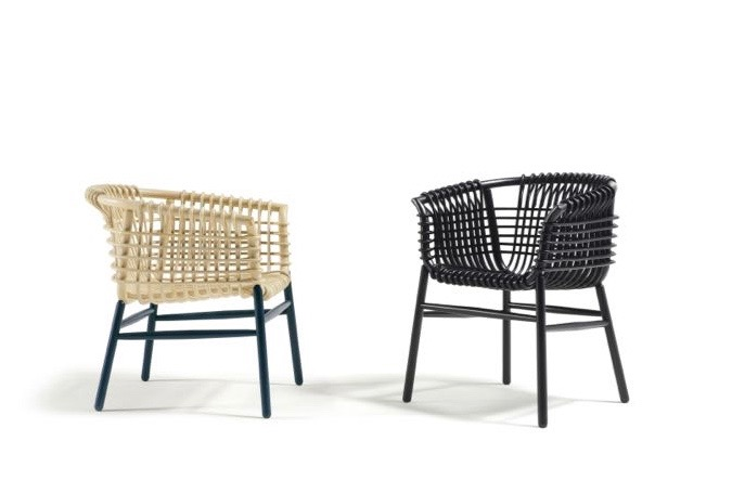 The 'Lukis' chair by Abie Abdillah for Cappellini. A perfect blend of Italian and Indonesian aesthetics.